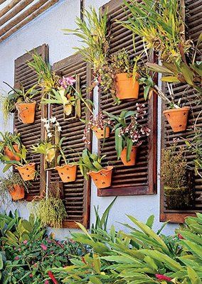 Wall Mounted Plant Holders | Container Garden Design ...